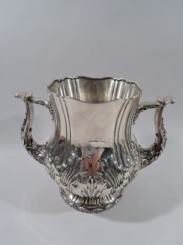 Whiting Sterling Silver 2 Handle Trophy Cup C 1890