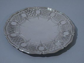 Tiffany Sterling Silver Cake Plate C 1914 & Tiffany Silver offered by Nelson \u0026 Nelson Antiques - Antique ...