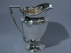 Tiffany American Sterling Silver Water Pitcher C 1920