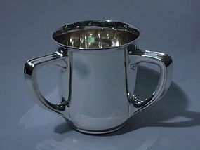 Gorham American Sterling Silver Trophy Cup 1912