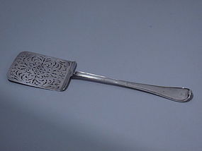 German Augsberg Silver Server 18th C