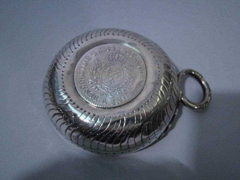 French Restauration Silver Wine Taster Tastevin C 1820