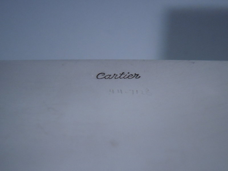 Cartier French Sterling Silver Box Art Deco C 1930