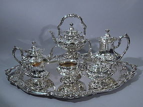Reed & Barton Francis I Tea & Coffee Set 1950