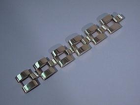 Tiffany 14 Kt Gold Chain Link Bracelet C 1940