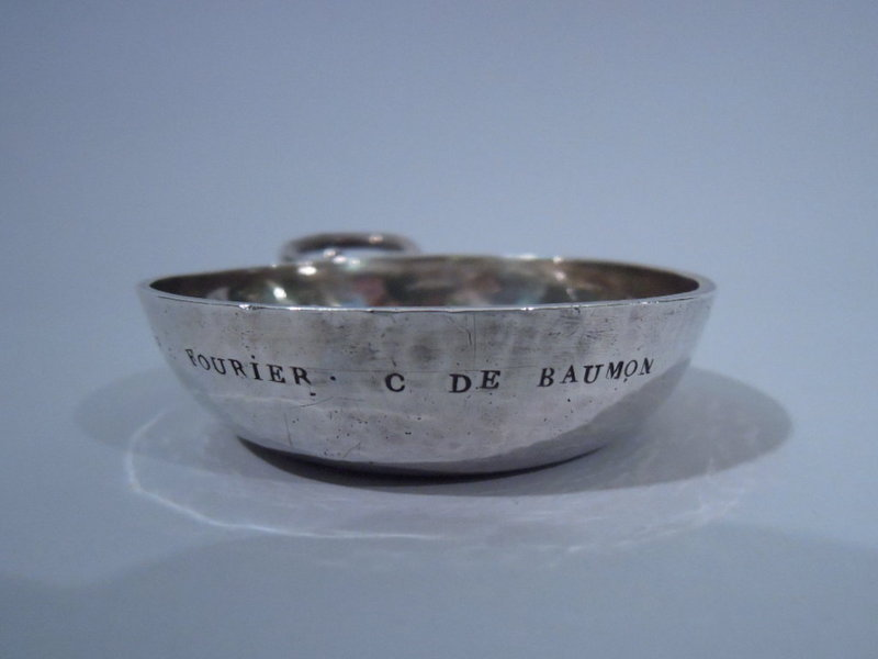 Louis XV French Silver Wine Taster Tastevin C 1770