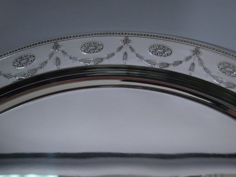 Tiffany Neoclassical Adams Style Sterling Silver Tray