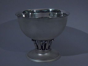 Georg Jensen Sterling Silver Centerpiece Bowl C 1950