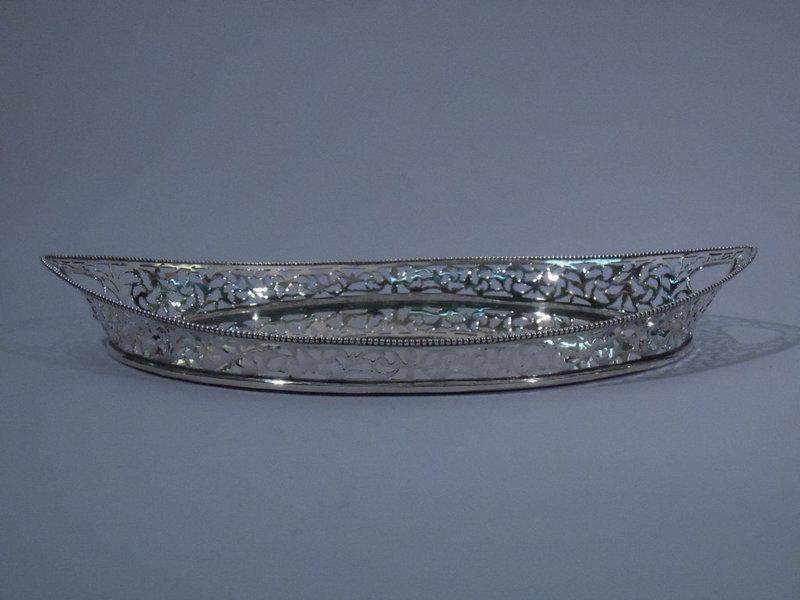 Dutch 835 Silver Tray C 1900