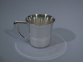 Merrill Sterling Silver Baby Cup C 1920