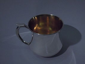 Gorham Sterling Silver Baby Cup C 1950