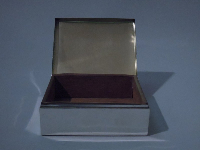 Smith & Smith Sterling Silver Desk Box C 1940