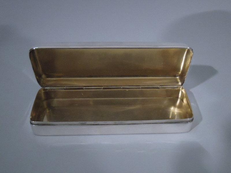 Tiffany Sterling Silver Desk Box C 1905