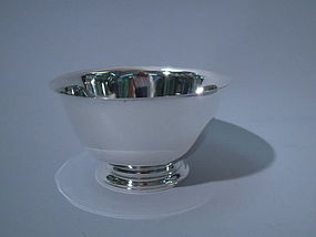 Tiffany Sterling Silver Bowl C 1965
