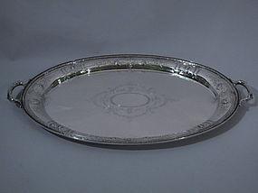 Gorham Maintenon Sterling Silver Tray 1923