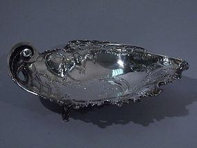 German 800 Silver Rococo Bowl C 1920