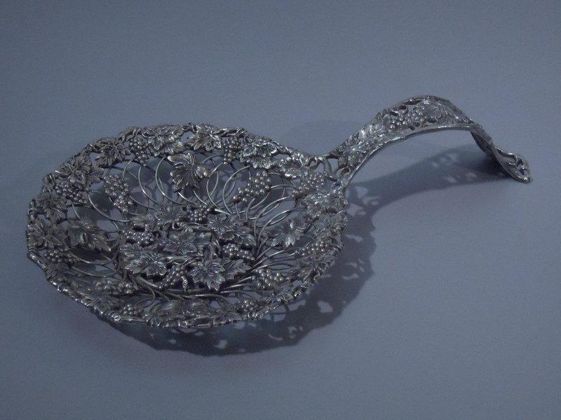 American Sterling Silver Bonbon Spoon C 1890