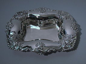 Gorham Sterling Silver Square Bowl 1898