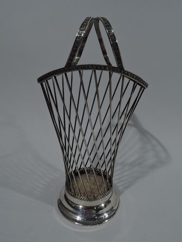 Austrian Modern Silver Basket C 1920