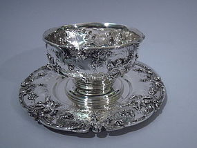 Black, Starr & Frost Sauce Bowl on Stand C 1890