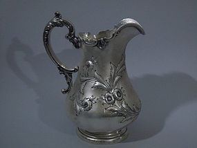 Philadelphia Coin Silver Water Pitcher C 1860