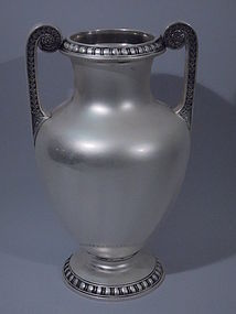 American Sterling Silver Amphora Vase C 1910