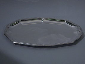 Puiforcat French 950 Silver Serving Tray