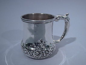 Philadelphia Sterling Silver Baby Cup C 1890
