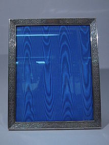 American Sterling Silver Picture Frame C 1900