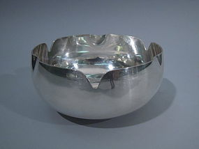 Tiffany Sterling Silver Ashtray C 1965