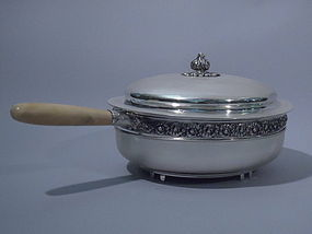 Antique Tiffany Sterling Silver Chafing Dish