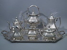 Antique Edwardian Sterling Silver Tea and Coffee Set by Reed & Barton