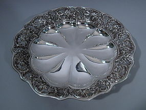 American Sterling Silver Centerpiece Bowl C 1900
