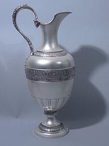 Tiffany Sterling Silver Ewer - Very Large C 1885