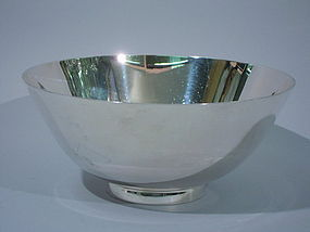Tiffany Art Deco Sterling Silver Bowl C 1920
