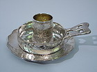 Tiffany Hand Hammered Baby Set in Japanese Style C 1879