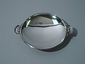 Georg Jensen Danish Sterling Silver Pin Tray C 1945