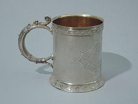 Gorham Sterling Silver Mug 1871