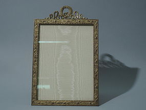 French Dore Bronze Picture Frame - Art Nouveau C 1900