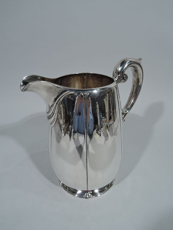 American Sterling Silver Classical Water Pitcher 1928