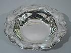 Tiffany Rococo Sterling Silver Bowl C 1911