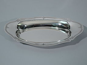 Wallace Salisbury Sterling Silver Bread Tray C 1915