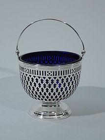 Tiffany Sterling Silver Sugar Basket C 1907