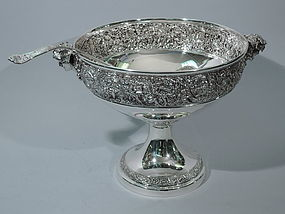 Tiffany Olympian Punch Bowl & Ladle C 1900
