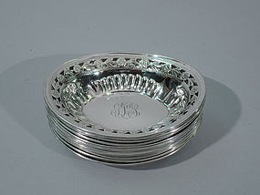 American Sterling Silver Nut Dishes C 1920