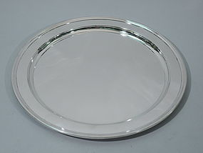 Tiffany Heavy Sterling Silver Serving Tray C 1923