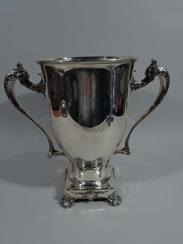 Whiting Sterling Silver Large Amphora Trophy Cup 1911