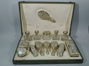 Vanity Items Dresser Sets Offered By Nelson Nelson Antiques