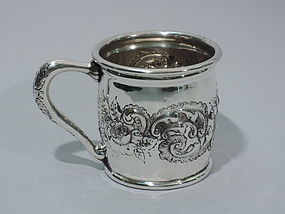 Large Baby Cup - American Sterling Silver C 1900