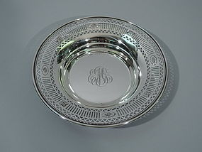 Neoclassical Sterling Silver Bowl by Gorham 1928